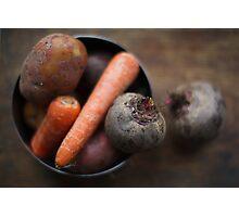 root veggies Photographic Print