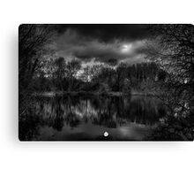Silent Waters  Canvas Print