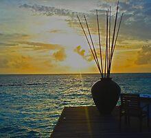 Sunset Dinner by JenThompson85