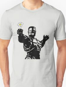 "Robocop ""likes flowers"" T-Shirt"