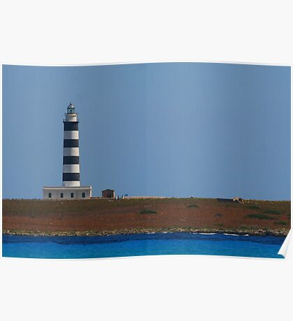 Lighthouse, Menorca Poster