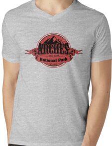 Arches National Park, Utah Mens V-Neck T-Shirt