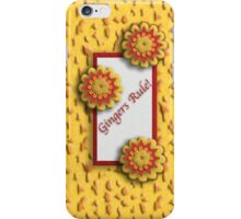 """Yellow and Red Flowers """"Gingers Rule""""  iPhone Case/Skin"""