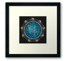 Starry Gate Framed Print