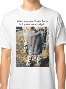 Budget Power Armor Classic T-Shirt