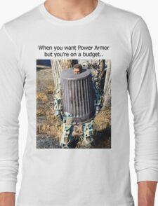 Budget Power Armor Long Sleeve T-Shirt