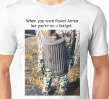 Budget Power Armor Unisex T-Shirt