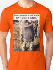Budget Power Armor Unisex T-Shirt