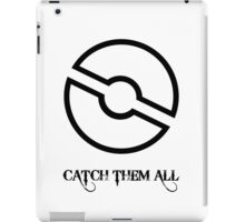 Pokemon: Pokeball pattern iPad Case/Skin