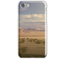 The Mojave Desert at Sunset iPhone Case/Skin