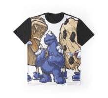 Cookies Art Design Monster Graphic T-Shirt