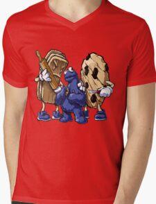 Cookies Art Design Monster Mens V-Neck T-Shirt