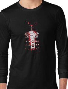 Dalek Alpha – Red Long Sleeve T-Shirt