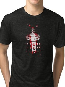 Dalek Alpha – Red Tri-blend T-Shirt