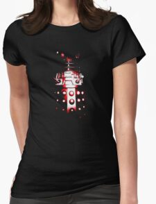 Dalek Alpha – Red Womens Fitted T-Shirt