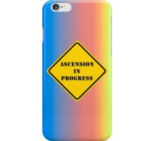 Ascension In Progress iPhone Case Rainbow Warrior iPhone Case/Skin