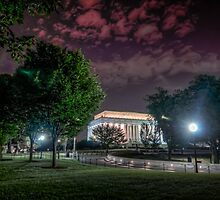 The Lincoln Memorial by Alex Banakas