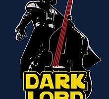 Dark Lord of Da Bass (Star Wars) by corywaydesign