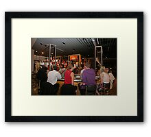 Tapas Revolution in Bluewater Framed Print