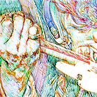 JIMI and his GUITAR by lautir