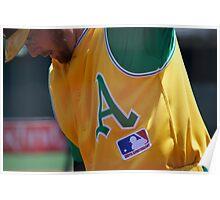 Oakland Baseball Poster