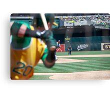 Oakland Baseball Canvas Print