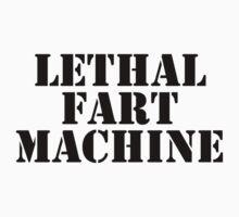 LETHAL FART MACHINE T SHIRT by GeekShirtsHQ