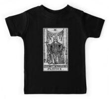 Justice Tarot Card - Major Arcana - Fortune Telling - Occult Kids Tee