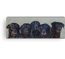the Pennington Labradors Canvas Print