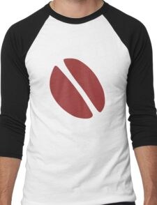 Coffee Bean Men's Baseball ¾ T-Shirt