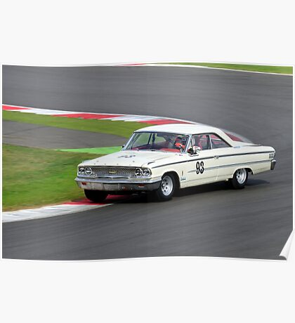 Ford Galaxie No 93 Poster