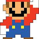 Super Mario Maker - Modern Mario Costume Sprite by NiGHTSflyer129