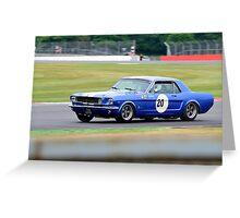 Ford Mustang No 20 Greeting Card