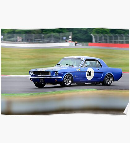 Ford Mustang No 20 Poster