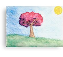 Eight Realms: Background #4... water colors... Canvas Print