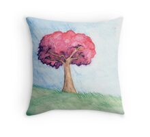 Eight Realms: Background #4... water colors... Throw Pillow