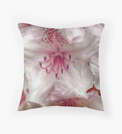 Princess Flower Throw Pillow