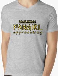 Warning! Fangirl approaching! Mens V-Neck T-Shirt