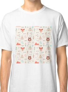 Tribal Animal Seamless Patterns Classic T-Shirt