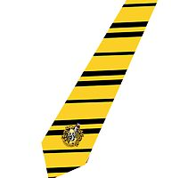Hufflepuff Tie iPhone Case by NatalieMirosch