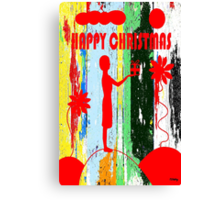 HAPPY CHRISTMAS 14 Canvas Print
