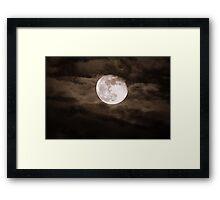 """Super-Moon"" Framed Print"