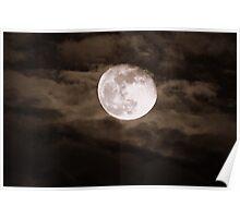 """""""Super-Moon"""" Poster"""