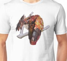 Buzzard rearranging feathers Unisex T-Shirt