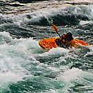 Kayaking in White Water by Yukondick
