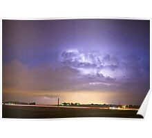 I25 Intra-Cloud Lightning Strikes Poster
