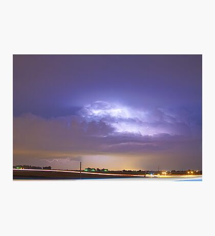 25 to 34 Intra-Cloud Lightning Thunderstorm Photographic Print