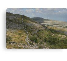 The barren burren national park Canvas Print
