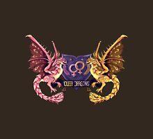 ~~Heraldic Queer Lady Dragons~~ Unisex T-Shirt