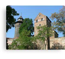 Torre de Castillo de Nuremberg. Canvas Print